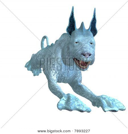 bizarro cachorro alienígena