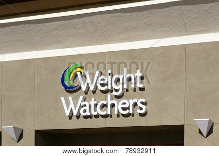 Weight Waters Exterior And Sign