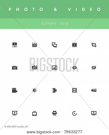 Iconify v2 - Photo & Video