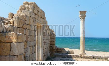 Ruins Of Ancient Ancient Building