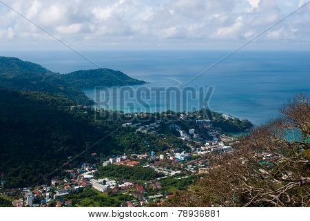 Viewpoint Of Island Of Phuket, Thailand