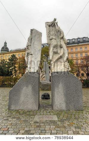 Memorial Against War And Fascism - Vienna, Austria