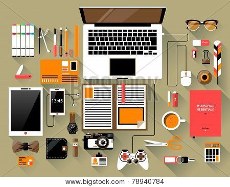 Flat Design Modern Vector Illustration Concept