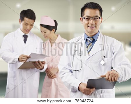 Asian Medical Professionals