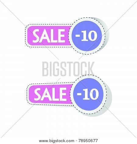 Sale Color Vector