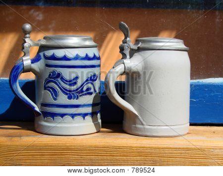 beer stein pints mug