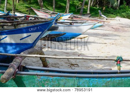 Sri Lankan Boats