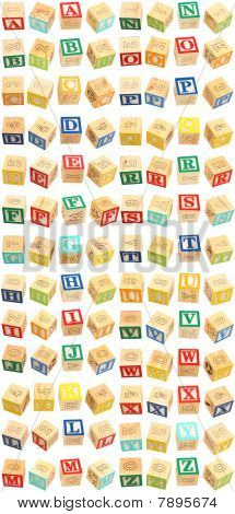 Alphabet Blocks A Thru Z