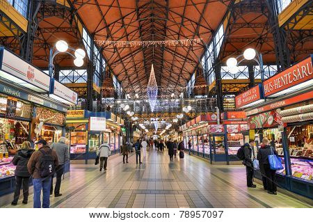 Great Market Hall - Budapest, Hungary