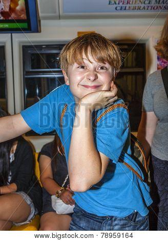 Cute Boy In The Subway