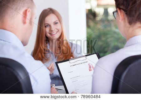 Employers Making An Interview