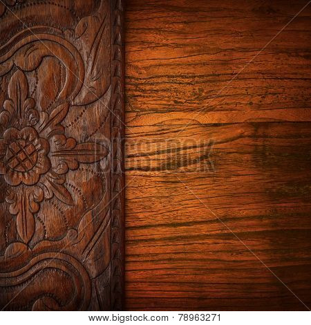 wood carving background