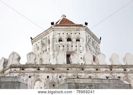 White Brick Tower