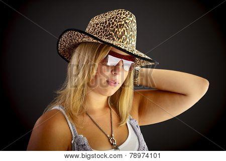 Portrait With Hat