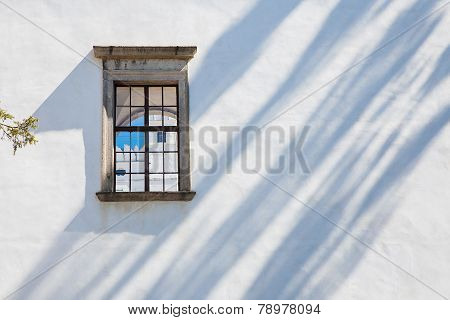 Windows of castle Rozemberk, Czech Republic