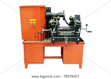 tire changer machine  isolated under the white background