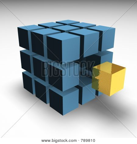 Golden block