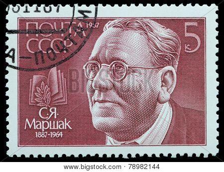 Portrait Of Samuil Marshak
