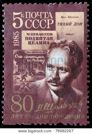 Soviet Novelist And Winner