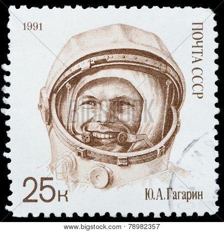 Cosmonaut Yuri Gagarin