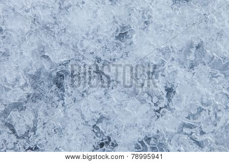 Blue Ice Background