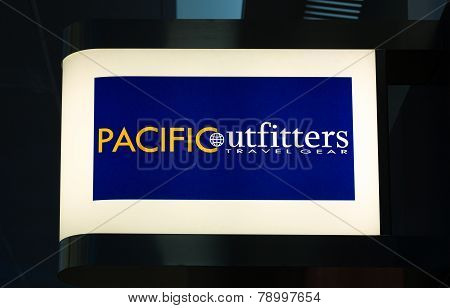 Pacific Outfitters Store Exterior And Sign