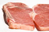 thin sliced shell steaks