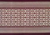 image of batik  - texture of batik fabric thai style for background - JPG