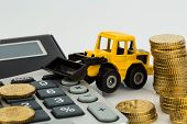 pic of road construction  - cost accounting in the construction industry and the construction industry - JPG