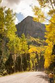 image of colorado high country  - Photographer in Colorado Fall season in the high country - JPG
