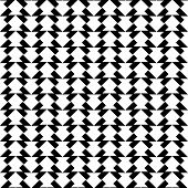 picture of trapezoid  - Black and white geometric seamless pattern with trapezoid abstract background vector illustration - JPG