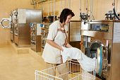 stock photo of laundry  - cleaning services - JPG