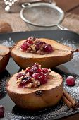 picture of lenten  - Baked pears with cranberries - JPG