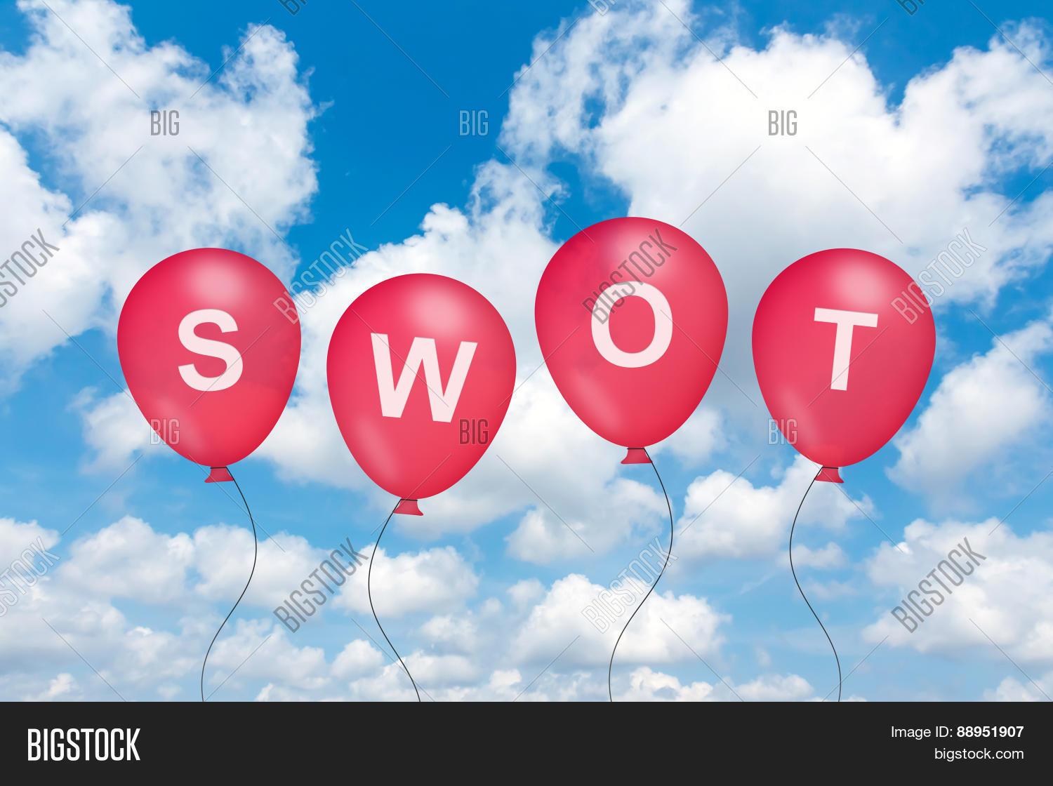 swot analysis or strengths weaknesses opportunities and threats swot analysis or strengths weaknesses opportunities and threats text on balloon