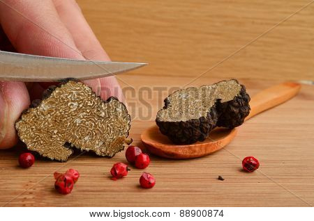 Truffle Cutting
