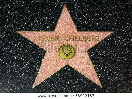 Steven Spielberg Star On The Hollywood Walk Of Fame