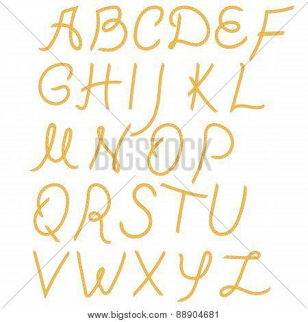 Rope Alphabet