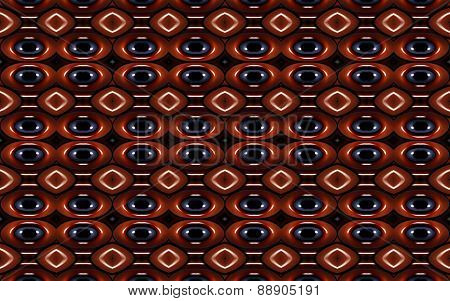 Geometric Futuristic Colorful Pattern