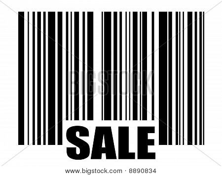 bar code with text