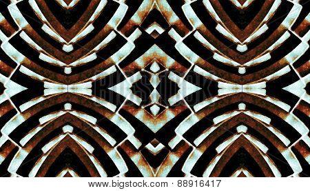 Futuristic Tech Pattern Background