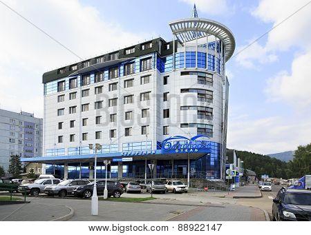 Belovodie hotel in resort Belokurikha.