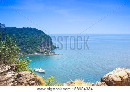 View Point At Koh Rok, Krabi Thailand