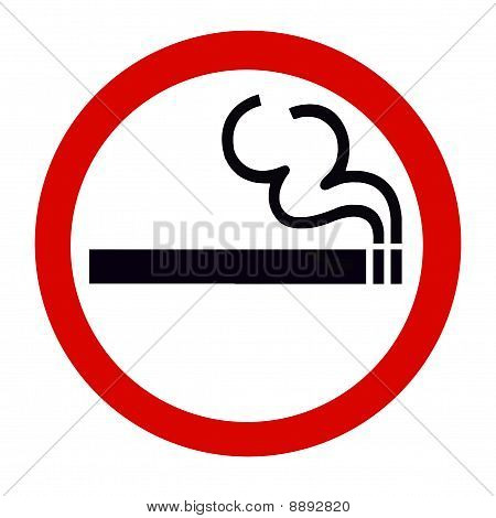 Symbol of Smoking area Zone