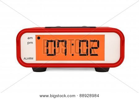 Modern Digital Alarm Clock