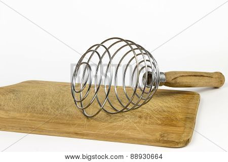 Brass whisk