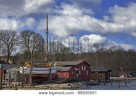 Wooden Shipyard