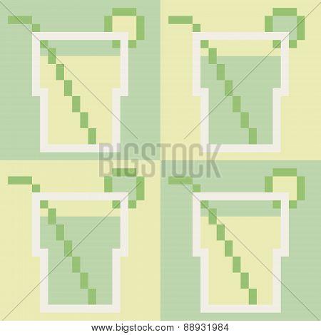 illustration pixel art icon