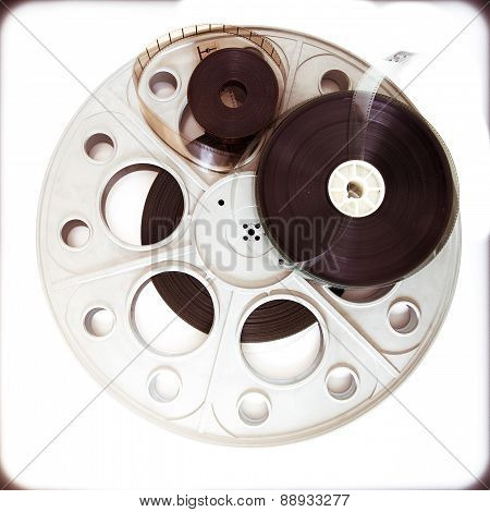 Original Theater Movie Cinema 35Mm Reel With Film Reels