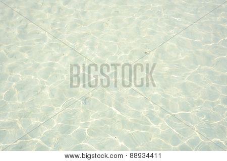 Water Surface Near The Beach