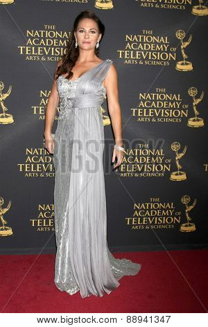 LOS ANGELES - FEB 24:  Jade Harlow at the Daytime Emmy Creative Arts Awards 2015 at the Universal Hilton Hotel on April 24, 2015 in Los Angeles, CA